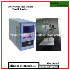 Finger Protected Parallel Spot Welding Machine pictures & photos