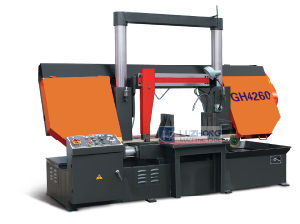 Hydraulic Horizontal Band Saw Gh4265 Metal Cutting Band Sawing Machine pictures & photos