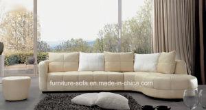Modern Living High Quality Furniture Leather Sofa Set (S001)