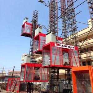Ce Approved Sc200/200td Construction Hoist / Building Hoist pictures & photos