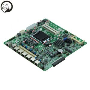 Firewall Appliance Motherboard with 6 LAN ATX, 6*Intel 82574L Or82583 Gigabit (B75SL VER: 1.2) pictures & photos