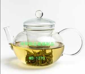 Fine Quality Hand-Made / Glassware / Glass Teapot pictures & photos