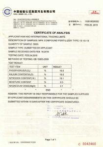 Granular Compound NPK 19-19-19 Fertilizer with Low Price pictures & photos
