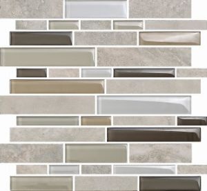 Interior Crystal Glass Mosaic and Marble Mosaic (M855001) pictures & photos