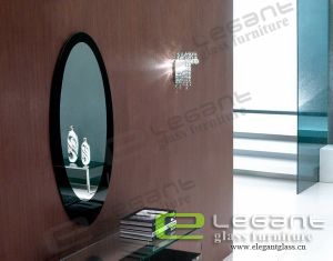 Glass Mirror With Painting -J04 pictures & photos