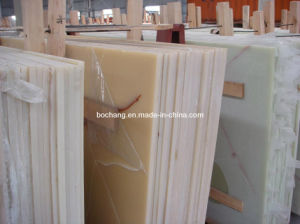 Artificial Marble Onyx Slab for Table Top pictures & photos