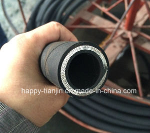 SAE100 R12 Four Wire High Pressure Hydraulic Hose Pipe pictures & photos