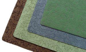 Natural Rubber Flocked Door Mat/Rugs/Carpet pictures & photos