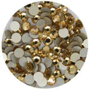 Flatback Crystal Rhinestones in Supreme Quality - Ss16 4.0mm Champaign (Light Colorado Topaz) pictures & photos