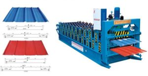 China Double Layer Iron Glazed Corrugated Roofing Sheet Machine (XM3-25) pictures & photos