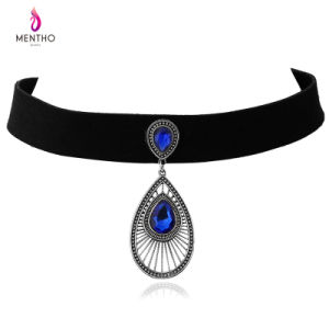 Three Style New Elegant Retro Alloy Necklace Geometric Design Pendant Jewelry pictures & photos