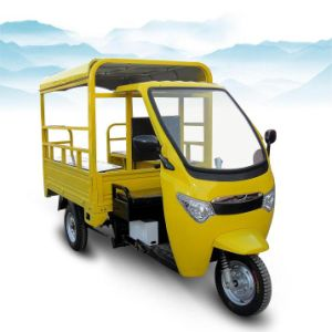 Solar Electric Tricycle for Passenger (STP+-07S)