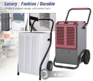50L/D Home Metal Black Handle Big Wheels Dehumidifier pictures & photos