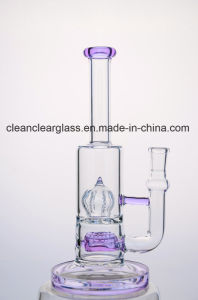 Hejian Ccg Latest Glass Water Pipe Smoking Pipe with 18mm Joint pictures & photos