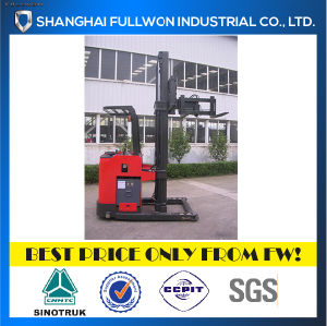 Full Luck Narrow Aisle 3 Way Electric Forklift pictures & photos