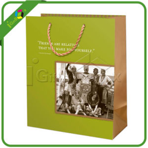 Colorful Gift Bag / Green Paper Bags pictures & photos