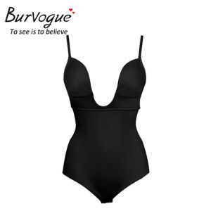 Burvogue Women Seamless Body Shaper Firm Control Shapewear Bodysuits Wholesale
