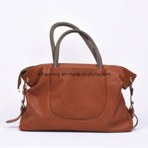Hot Sale Factory Wholesale Popular Women′s Leather Handbag Tote Bag Shoulder Bag pictures & photos