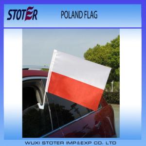 Custom Logo 100%Polyester 30*45cm Car Flags pictures & photos