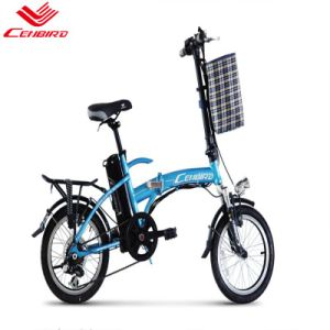 16 Inch Electric Bicycle with Lithium Battery (CB-16F02) pictures & photos