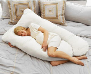 Kapok Pregnancy Pillow with Zippered Cover Pillow- Full Support pictures & photos
