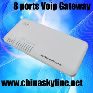 8 Channel GSM VoIP Gateway, 8 SIM Card Slots GSM Gateway, No Antenna (GoIP8)