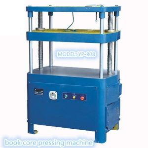 High Quality Book Core Pressing Machine (YP-808) pictures & photos