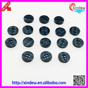 Blue Men Resin Shirt Buttons (XDJZ-182) pictures & photos