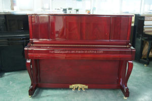 Mahogany Polish Vertical Piano Hu-121m