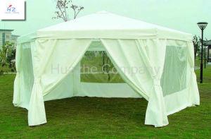 1.8m Steel 6 Edge Shape Folding Gazebo Pop up Tent Easy up Gazebo pictures & photos