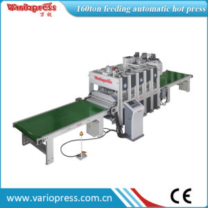 Feeding Automatically Shortcycle Hot Press pictures & photos