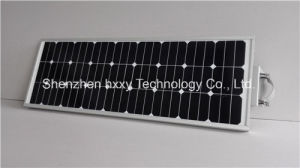 High Lumens Outdoor 80W LED Solar Panel Light with Sensor (HXXY-ISSL-80) pictures & photos