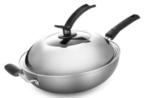 Non-Stick Aluminum Wok Cookware (QW-KS003) pictures & photos