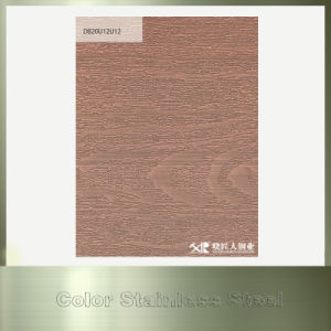 Copper Bronze Coated Stainless Steel Sheet for Cabinet Material pictures & photos