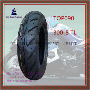 300-8tl Good Quality Tubeless 6pr Nylon Motorcycle Tyre pictures & photos