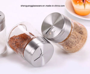 Fashion Pepper/Salt Bottle with Stainless Steel Lid/Spice Jar pictures & photos