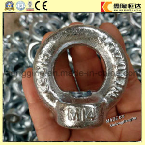 Carbon Steel Drop Forged Lifting DIN582 M14 Eye Nut pictures & photos