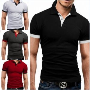 Hot Sale Short Sleeve Blank Cotton 200GSM Men′s Polo Shirts pictures & photos