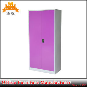 Four Shelves Swing Door Steel Office Cabinet pictures & photos