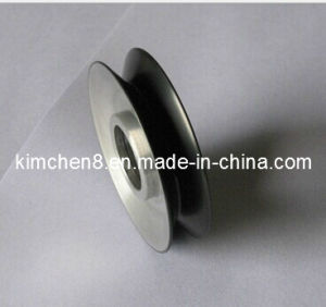 Ceramic Coated Aluminum Pulley D88*H15mm for Wire Cable Industrial pictures & photos