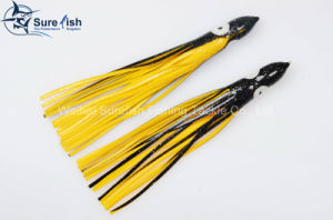 Free Shipping Artificial Soft Plastic Octopus Skirt Lure pictures & photos