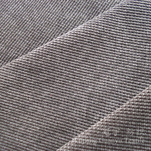 Cut Pile Nylon Corduroy Compound Fabric with T/C Backing pictures & photos