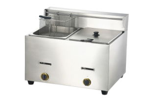 Gas Fryer Gf-72 pictures & photos
