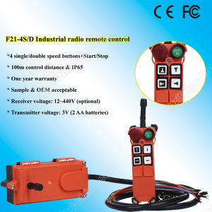 F21-4D Industrial Radio Wireless Remote Control for Crane pictures & photos