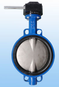 Wafer Type Butterfly Valve with Industrial pictures & photos