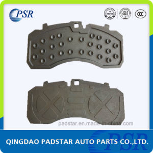 Stable Performance Truck Brake Pads Casting Iron Backing Plate pictures & photos