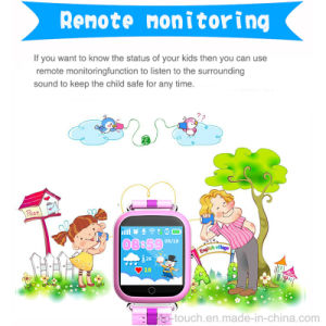 1.54′′ Bigger Screen GPS Tracking Wrist Watch for Kids (D19) pictures & photos