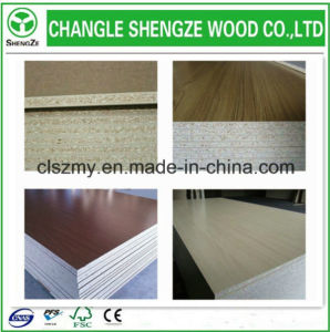 Factory Custom 1220*2440*15mm Chipboard/Particle Board /Flakeboard pictures & photos