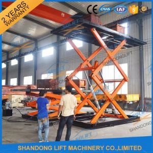 Hydraulic Car Stationary Scissor Lift Platform / Car Lift Table pictures & photos
