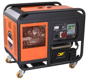 10kw Two Cylinder Gasoline Generator pictures & photos